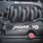 Jaguar V8 engine