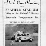 Stock Car Racing programme 1959
