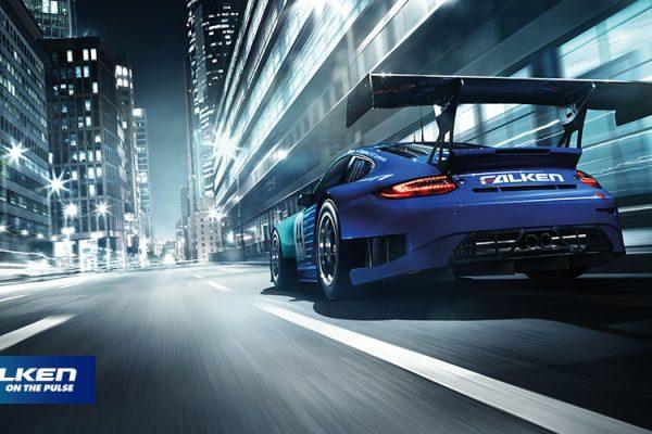 Falken tyres on Porsche